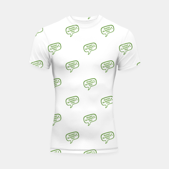 Thumbnail image of Happy St Patricks Day Symbol Motif Pattern Shortsleeve rashguard, Live Heroes