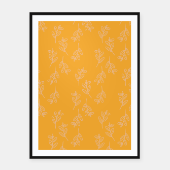 Thumbnail image of Feeling of lightness II - Mellow Yellow Framed poster, Live Heroes