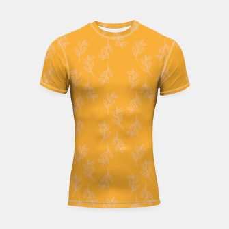 Thumbnail image of Feeling of lightness II - Mellow Yellow Shortsleeve rashguard, Live Heroes
