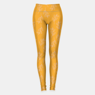 Thumbnail image of Feeling of lightness II - Mellow Yellow Leggings, Live Heroes