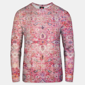 Pink Boho Traditional Vintage Moroccan Style Unisex sweater thumbnail image