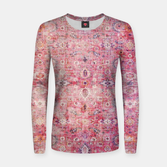 Thumbnail image of Pink Boho Traditional Vintage Moroccan Style Women sweater, Live Heroes