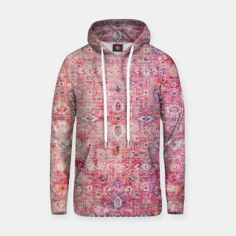 Pink Boho Traditional Vintage Moroccan Style Hoodie thumbnail image