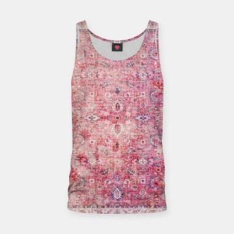 Pink Boho Traditional Vintage Moroccan Style Tank Top thumbnail image