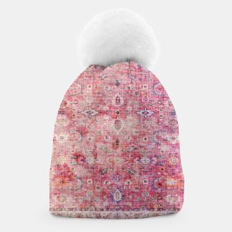 Pink Boho Traditional Vintage Moroccan Style Beanie thumbnail image