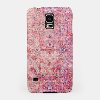 Pink Boho Traditional Vintage Moroccan Style Samsung Case thumbnail image