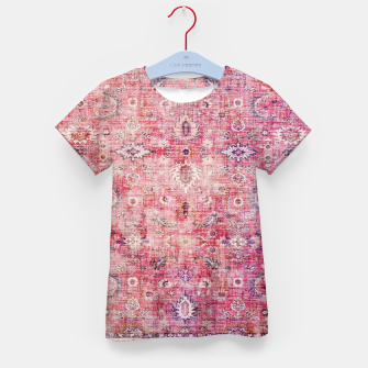 Pink Boho Traditional Vintage Moroccan Style Kid's t-shirt thumbnail image