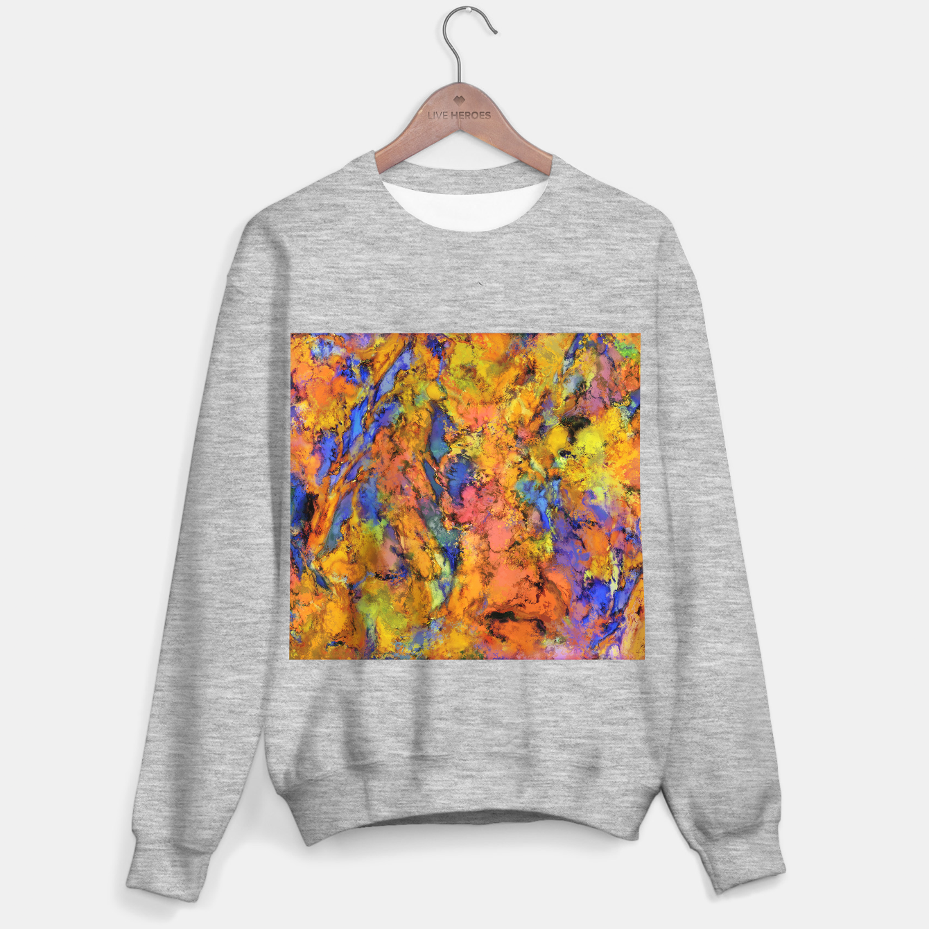 Image of Landslip Sweater regular - Live Heroes