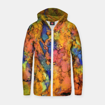 Thumbnail image of Landslip Zip up hoodie, Live Heroes