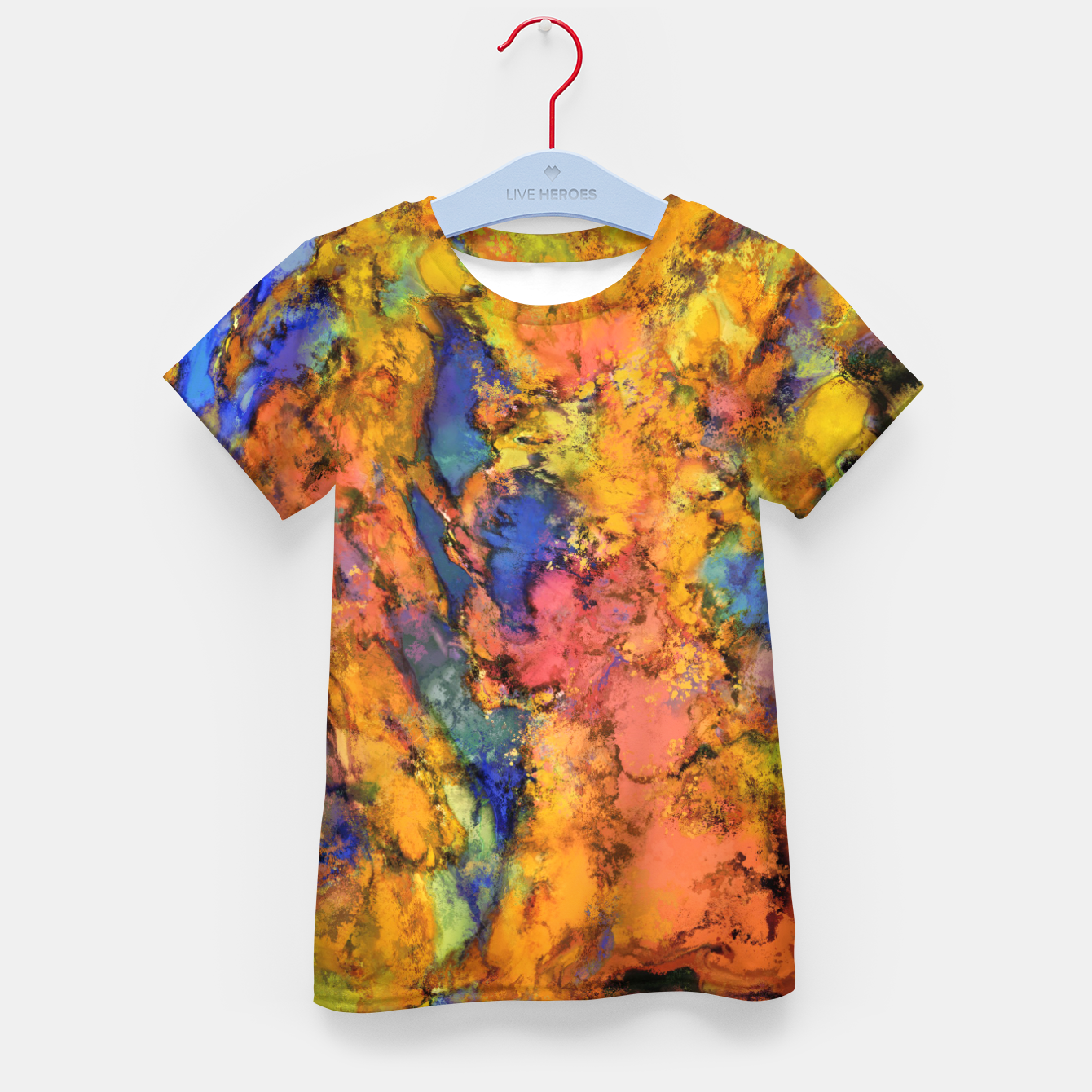 Image of Landslip Kid's t-shirt - Live Heroes
