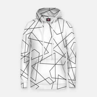 Miniatur Abstract geometric pattern - black and white. Hoodie, Live Heroes