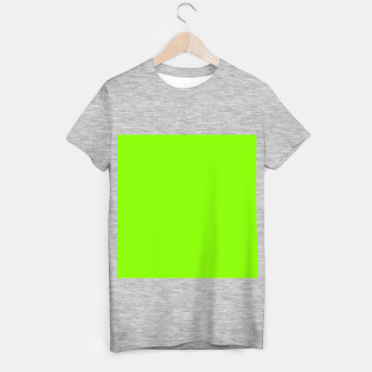 Thumbnail image of color chartreuse T-shirt regular, Live Heroes