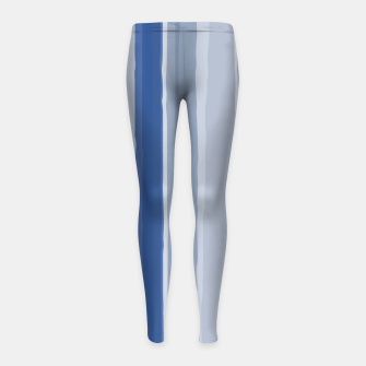 Thumbnail image of Blue lines Leggings para niña, Live Heroes