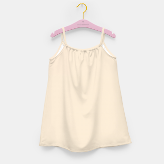 Thumbnail image of color antique white Girl's dress, Live Heroes
