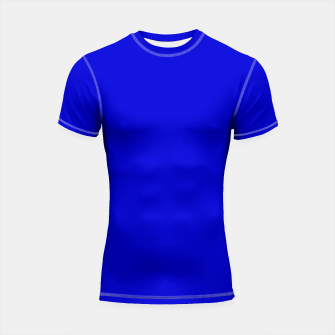 Imagen en miniatura de color medium blue Shortsleeve rashguard, Live Heroes