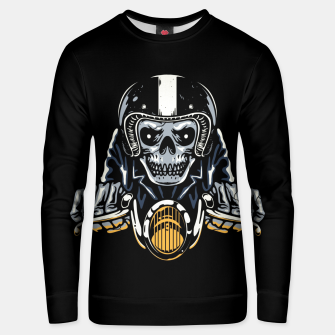 Thumbnail image of Death Biker Unisex sweater, Live Heroes