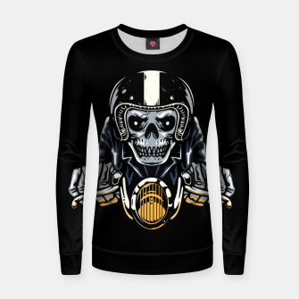Miniature de image de Death Biker Women sweater, Live Heroes
