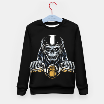 Miniature de image de Death Biker Kid's sweater, Live Heroes