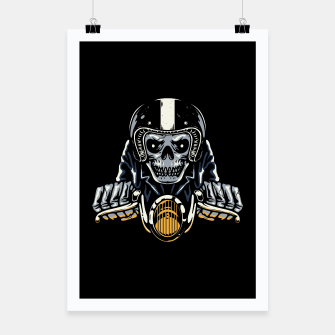 Thumbnail image of Death Biker Poster, Live Heroes
