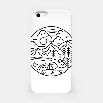 Miniatur Camping iPhone Case, Live Heroes