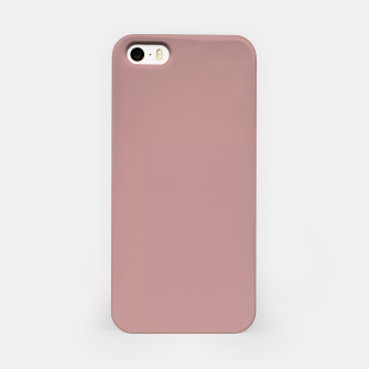 Miniatur color rosy brown iPhone Case, Live Heroes