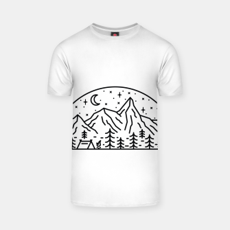 Miniatur Camping T-shirt, Live Heroes