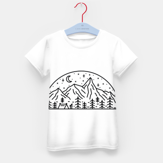 Miniatur Camping Kid's t-shirt, Live Heroes