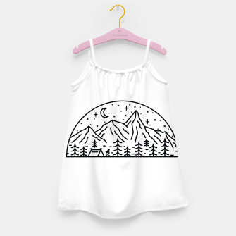 Miniatur Camping Girl's dress, Live Heroes