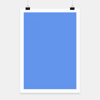 Thumbnail image of color cornflower blue Poster, Live Heroes