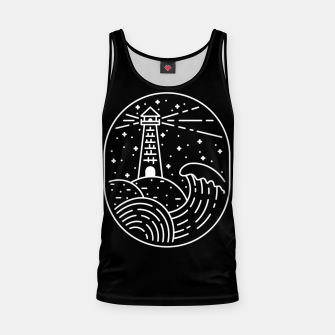 Miniatur Lighthouse Tank Top, Live Heroes