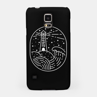 Miniatur Lighthouse Samsung Case, Live Heroes