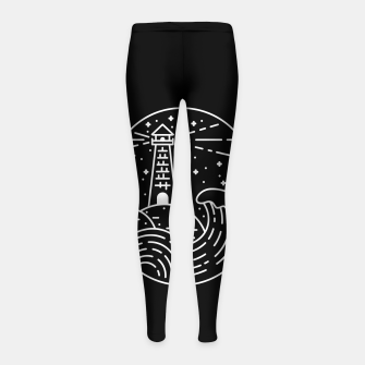 Miniatur Lighthouse Girl's leggings, Live Heroes