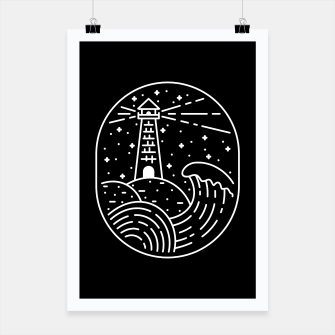 Miniatur Lighthouse Poster, Live Heroes