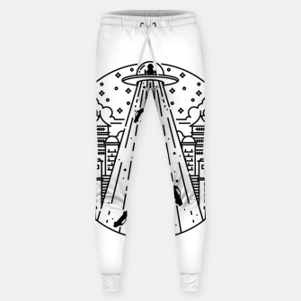 Miniatur Alien Invasion Sweatpants, Live Heroes