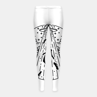 Miniatur Alien Invasion Girl's leggings, Live Heroes