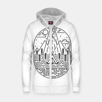Alien Invasion Zip up hoodie Bild der Miniatur