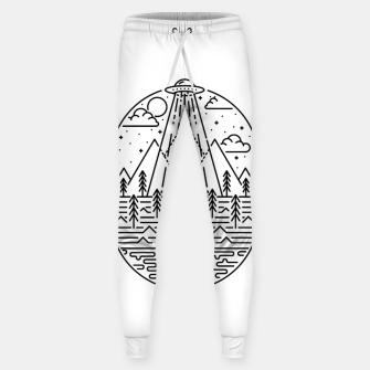Alien Invasion Sweatpants Bild der Miniatur