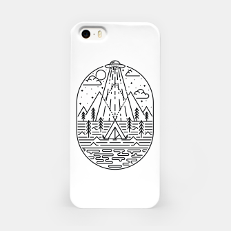 Alien Invasion iPhone Case Bild der Miniatur