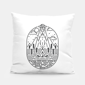 Alien Invasion Pillow Bild der Miniatur