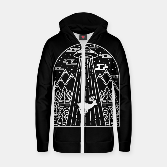 Thumbnail image of Alien Invasion Zip up hoodie, Live Heroes