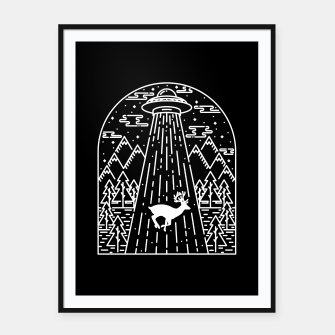Thumbnail image of Alien Invasion Framed poster, Live Heroes