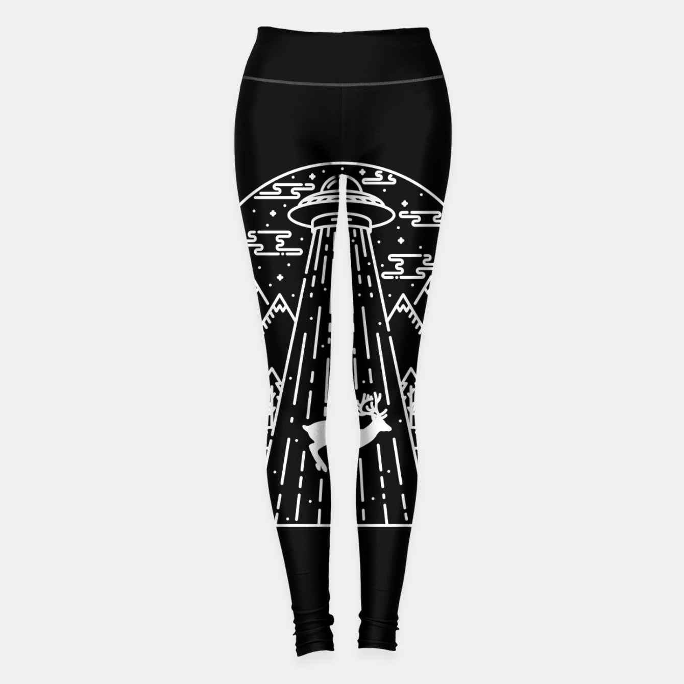 Foto Alien Invasion Leggings - Live Heroes