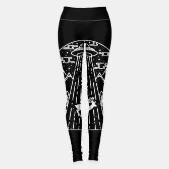Alien Invasion Leggings Bild der Miniatur