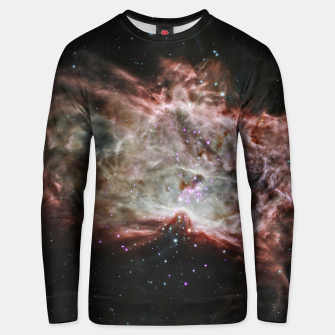 Thumbnail image of Space and Galaxy Unisex sweater, Live Heroes