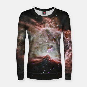 Imagen en miniatura de Space and Galaxy Women sweater, Live Heroes