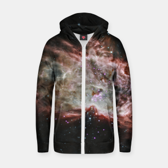 Miniature de image de Space and Galaxy Zip up hoodie, Live Heroes