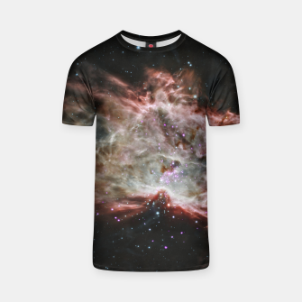 Thumbnail image of Space and Galaxy T-shirt, Live Heroes