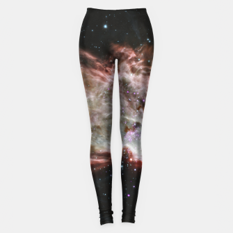 Thumbnail image of Space and Galaxy Leggings, Live Heroes