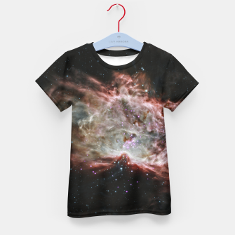 Thumbnail image of Space and Galaxy Kid's t-shirt, Live Heroes