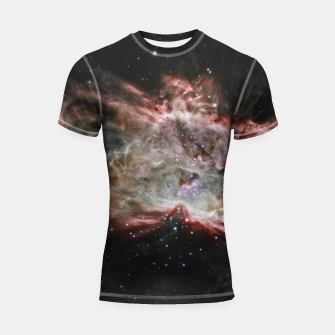 Miniaturka Space and Galaxy Shortsleeve rashguard, Live Heroes